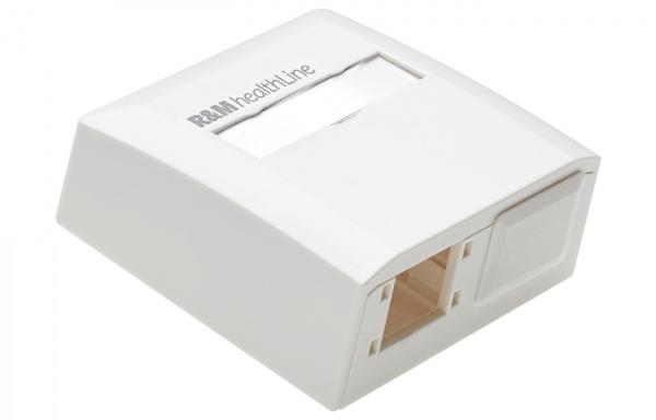 R825748 Mini Box-Surface-HL-2x1RJ45-white