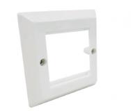 R795710 Cover Frame 86×86, 2×1 port