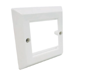 R795710 Cover Frame 86×86, 2×1 port