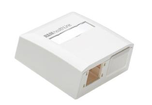 R825748 Mini Box Surface HL, 2x1port